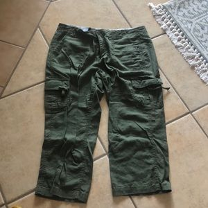 Army Green Crops